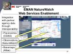 eman naturewatch web services enablement4