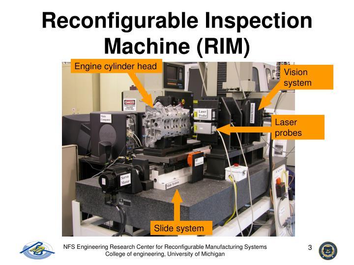 Reconfigurable Inspection Machine (RIM)