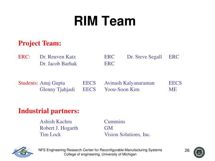RIM Team
