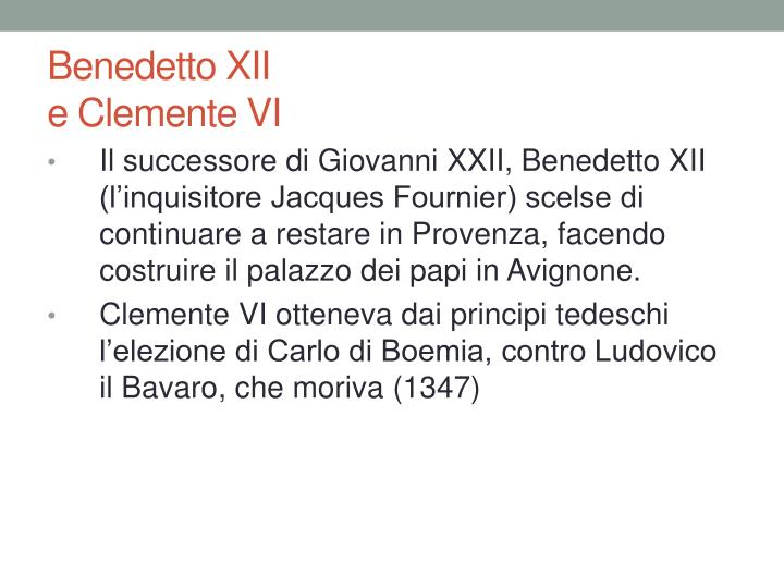 Benedetto XII