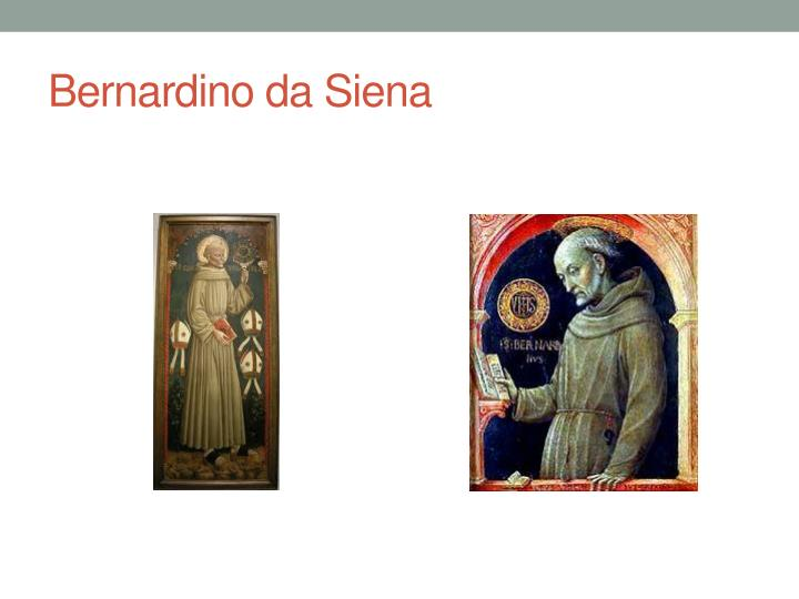 Bernardino da Siena