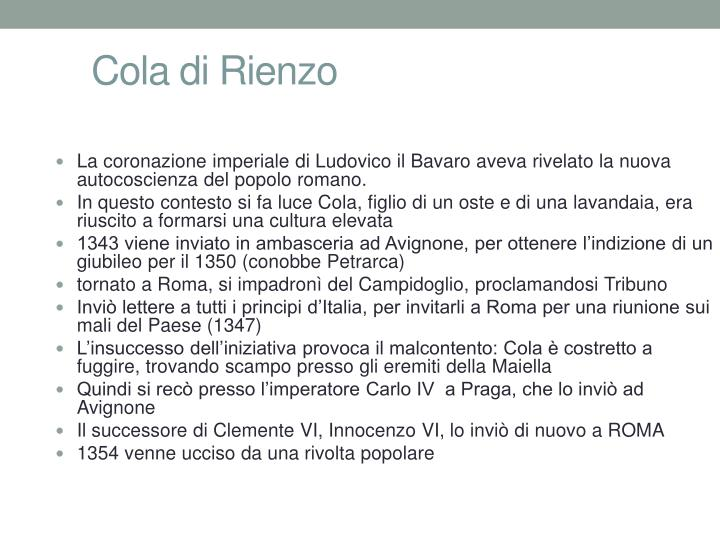 Cola di Rienzo