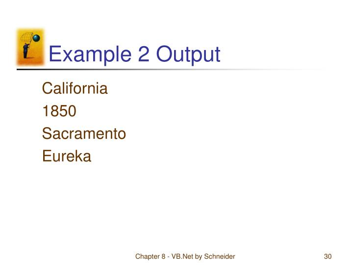 Example 2 Output