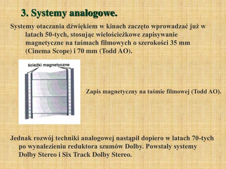 3. Systemy analogowe.