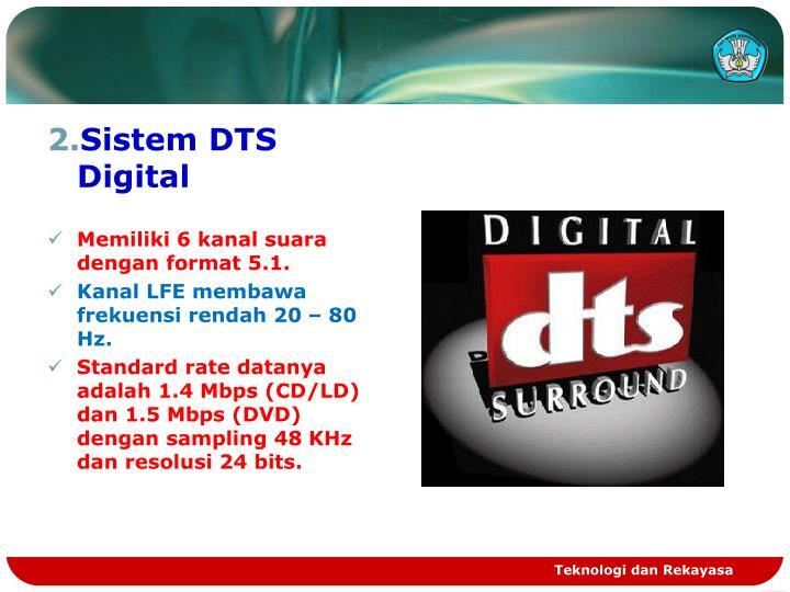 Sistem DTS Digital