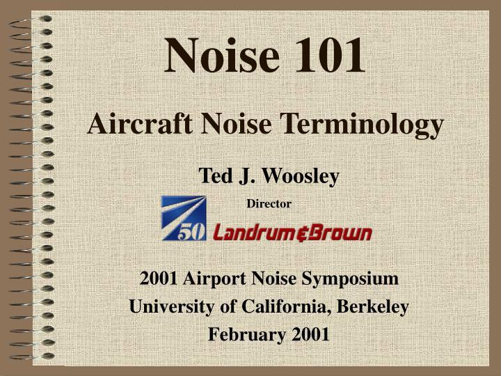 Noise 101