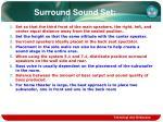 surround sound set