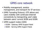 gprs core network