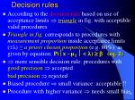 decision rules2