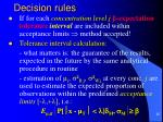 decision rules4