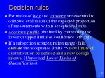 decision rules5