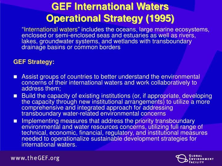 GEF International Waters