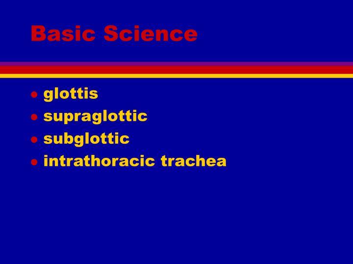 Basic Science