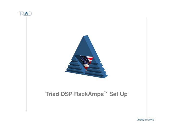 Triad DSP RackAmps