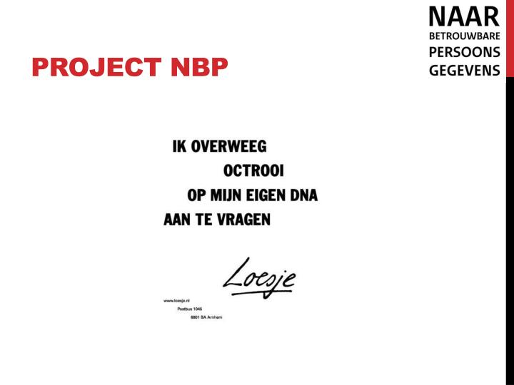 Project nbp