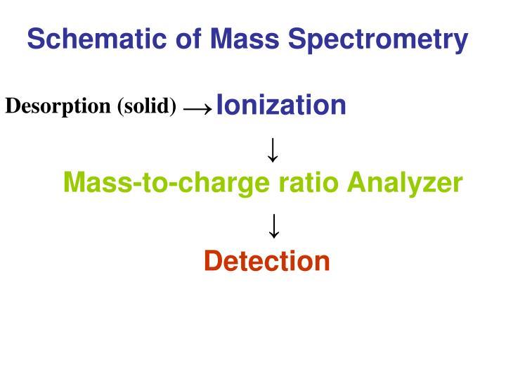 Schematic of Mass Spectrometry