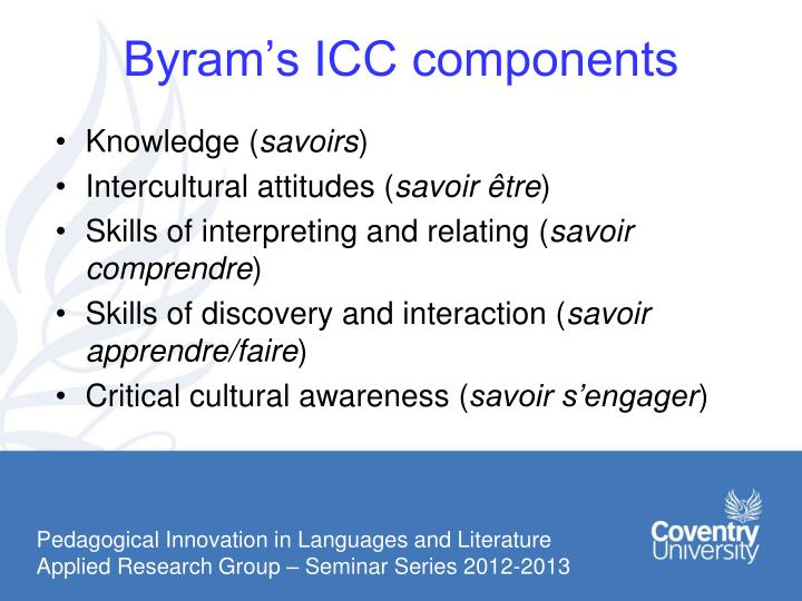 Byram's ICC components