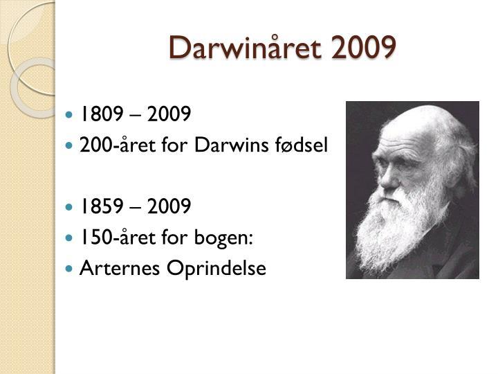 Darwinåret
