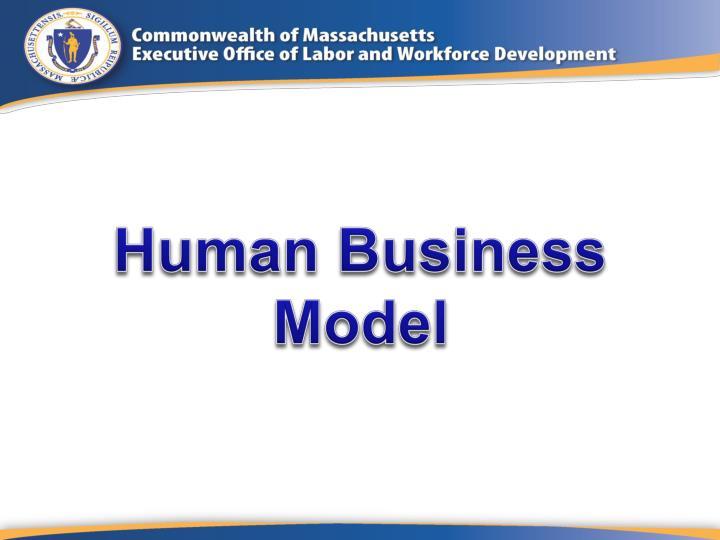 Human Business Model