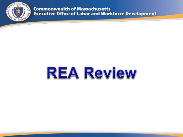 REA Review