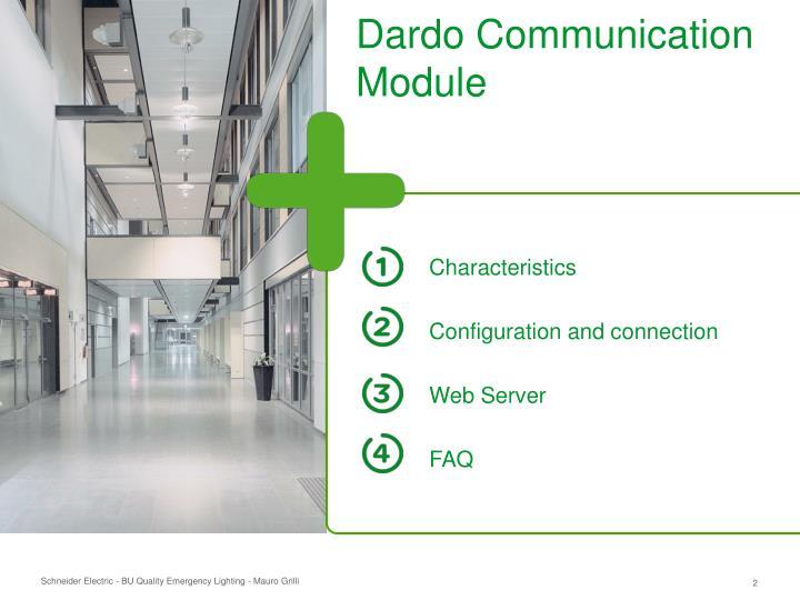 Dardo Communication Module
