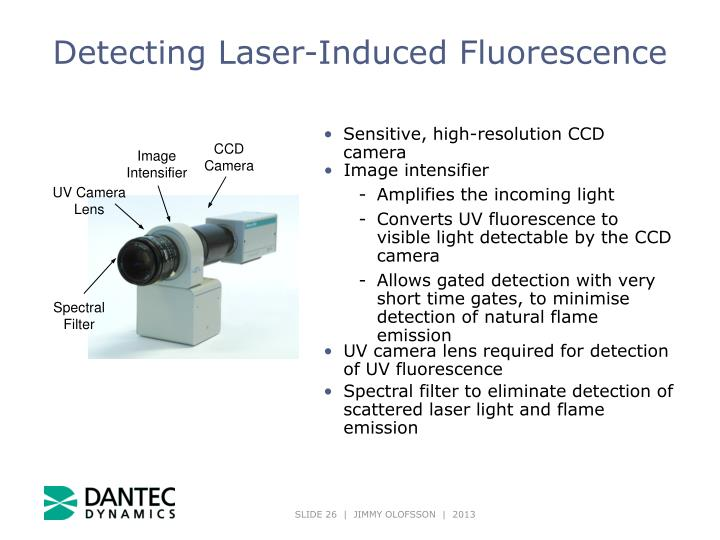 Detecting Laser-Induced Fluorescence