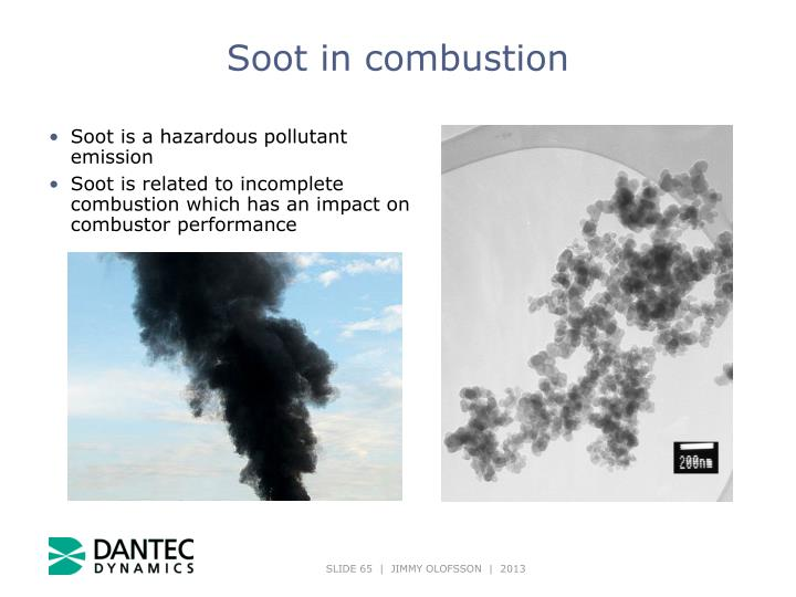 Soot in combustion