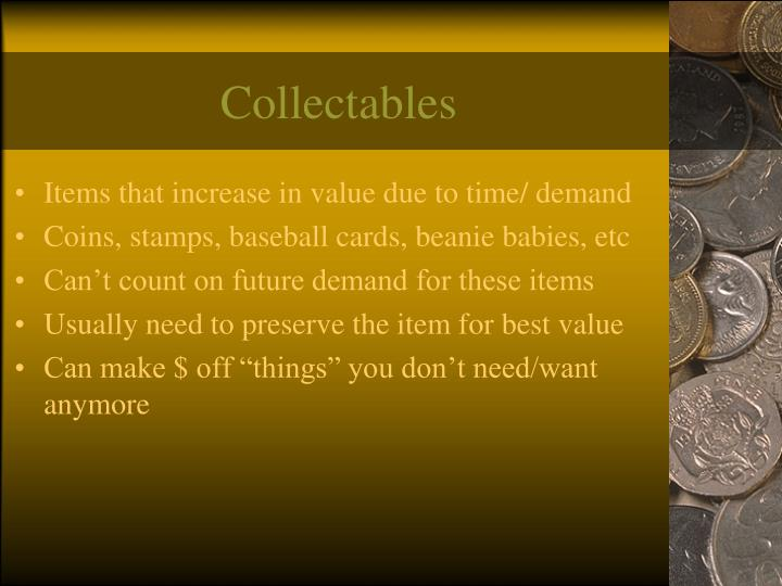 Collectables