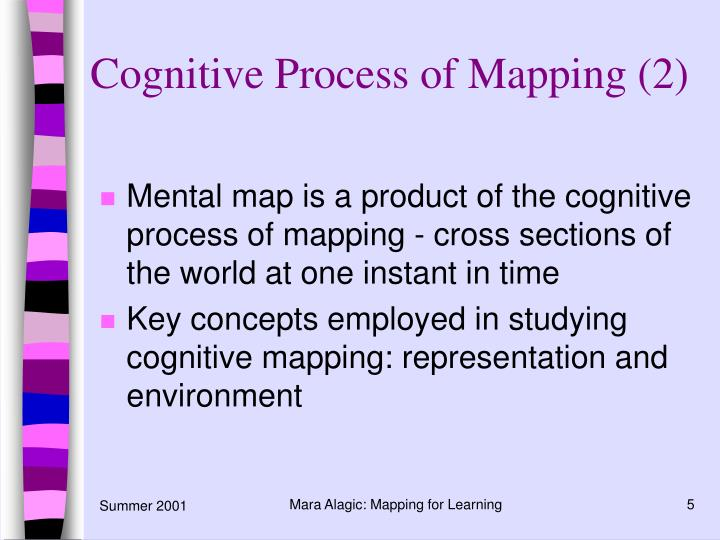 Cognitive Process of Mapping (2)
