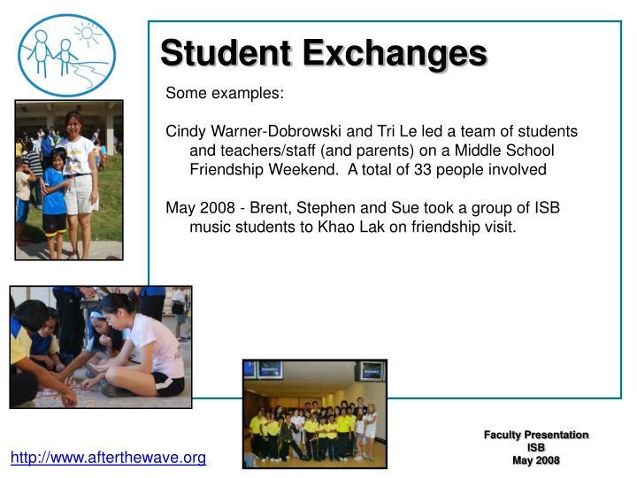 Student Exchanges
