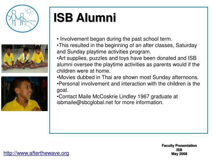 ISB Alumni