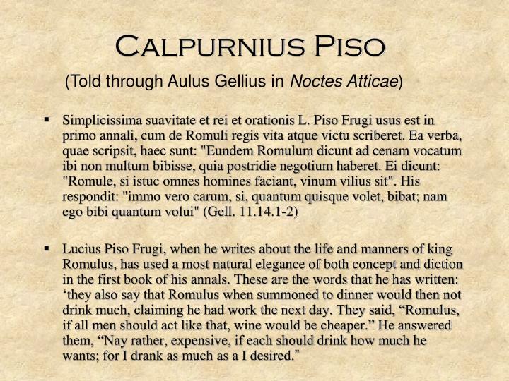 Calpurnius Piso
