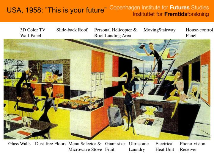"""USA, 1958: """"This is your future"""""""
