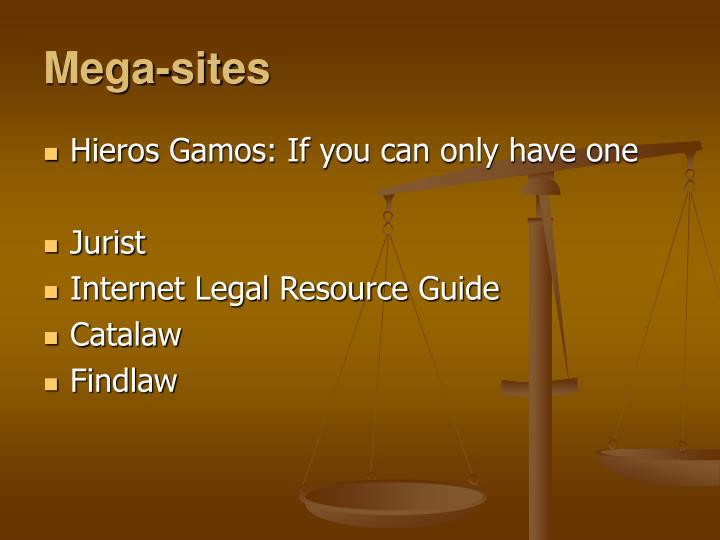 Mega-sites