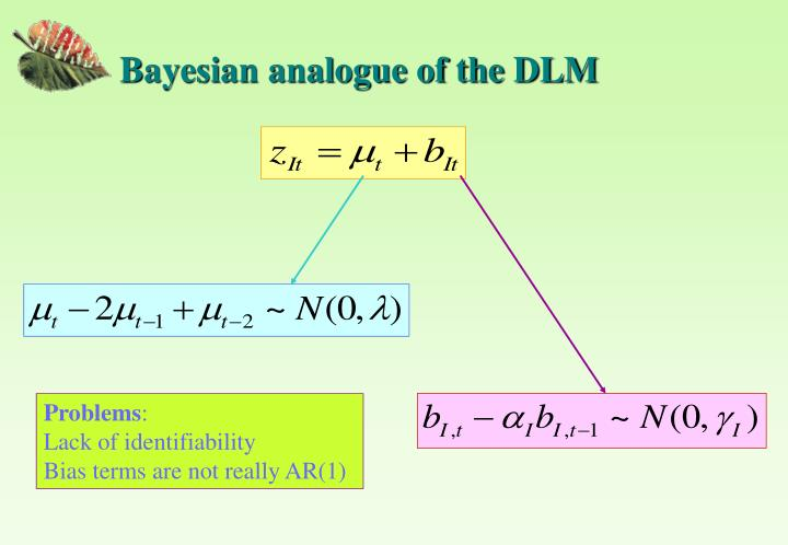 Bayesian analogue of the DLM