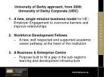 university of derby approach from 2008 university of derby corporate udc