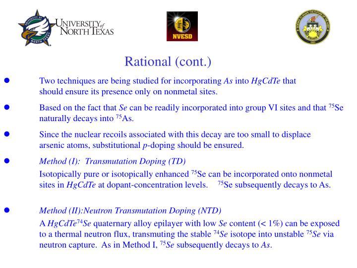 Rational (cont.)
