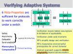 verifying adaptive systems