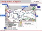 turkey natural gas pipelines