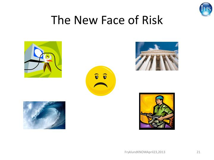 The New Face of Risk