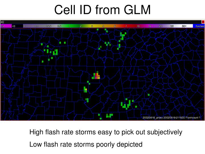 Cell ID from GLM