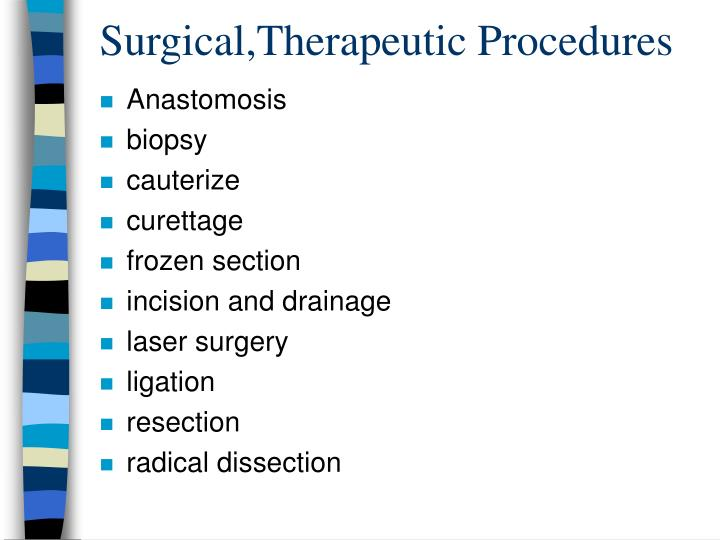 Surgical,Therapeutic Procedures