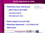 nlpg matched to voa