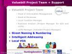 valuebill project team support
