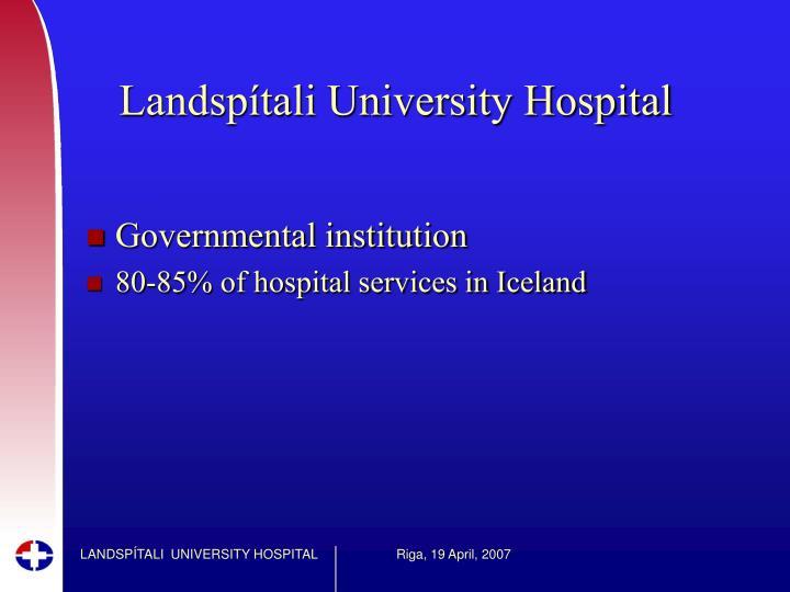 Landspítali University Hospital
