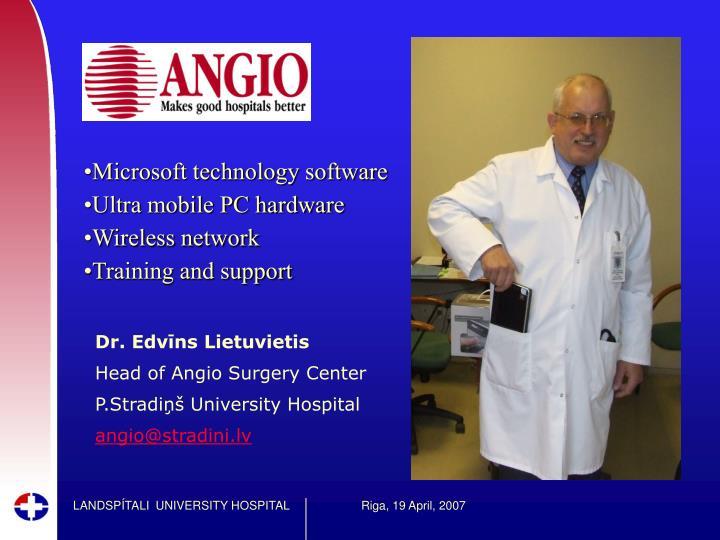Microsoft technology software