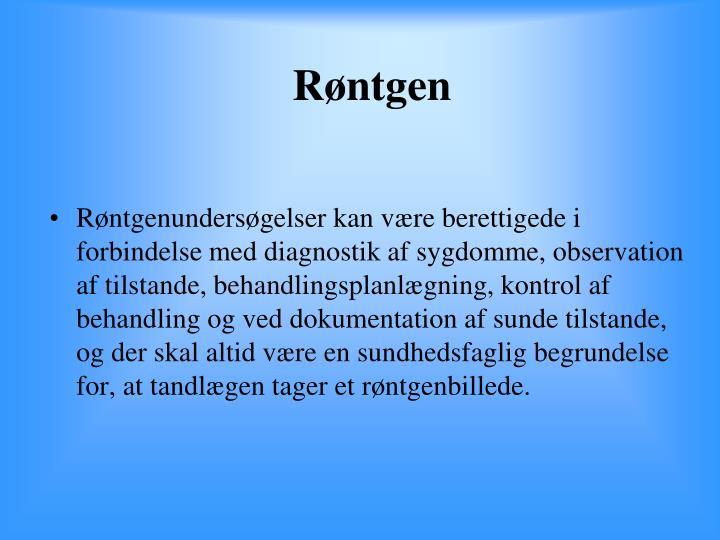 Røntgen