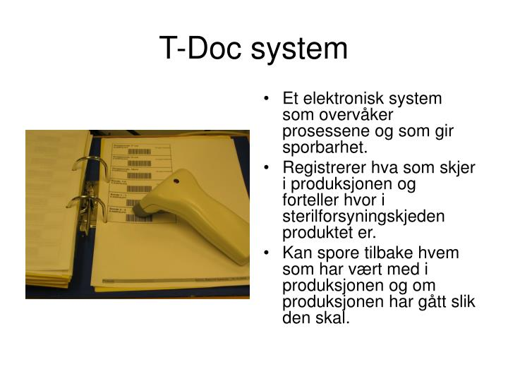 T-Doc system