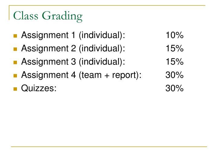 Class Grading