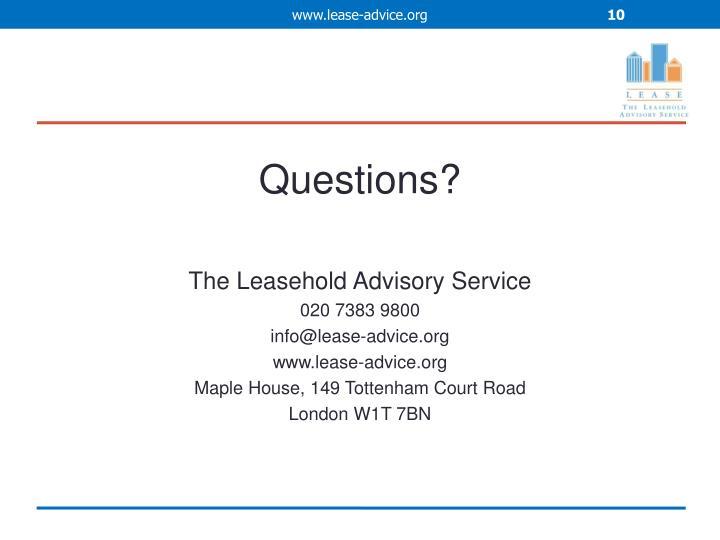 www.lease-advice.org